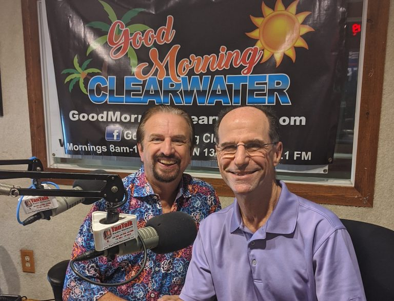 Jeff Brandeis on Good Morning Clearwater